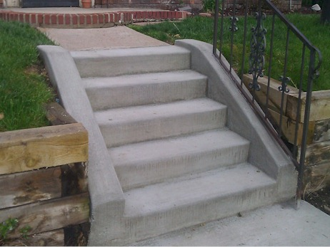 Concrete Stairs Repair